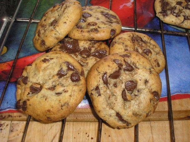 Čokoládové chip koláčiky - cookies (keksové) - obrázok 6