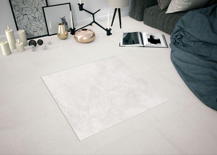 Plana Balanee Blanco Mate Pe 75*75 cm - Kaakelikeskus #laatta #kaakeli #sisustusinspiraatio #olohuone #keittiö