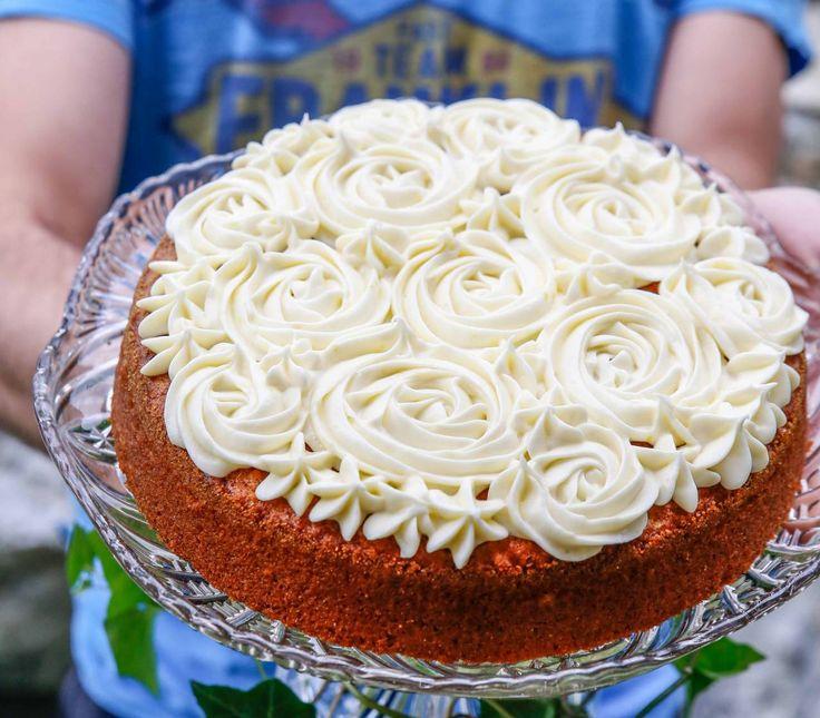 Swedish Carrot Cake Morotskaka Recipe