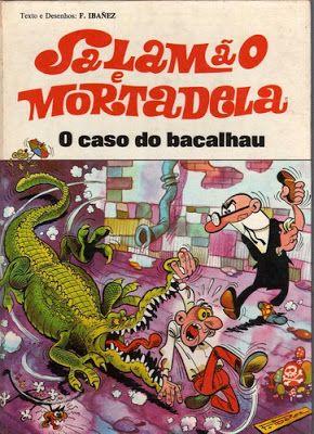 BD Portugal: Salamão e Mortadela - O Caso do Bacalhau