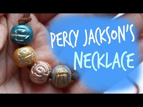 DIY Percy Jackson Necklace - YouTube