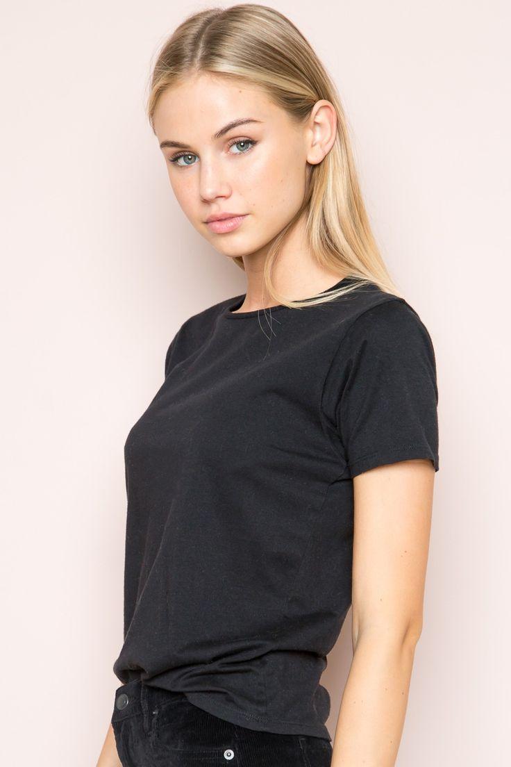 Black t shirt dress brandy melville - Rhea Top Brandy Melvillebeautiful Women