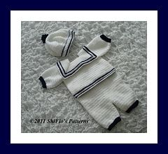 Thursday Handmade Love Week 67 Theme: Sailor Includes links to #free #crochet patterns  Dsc02504aa_small