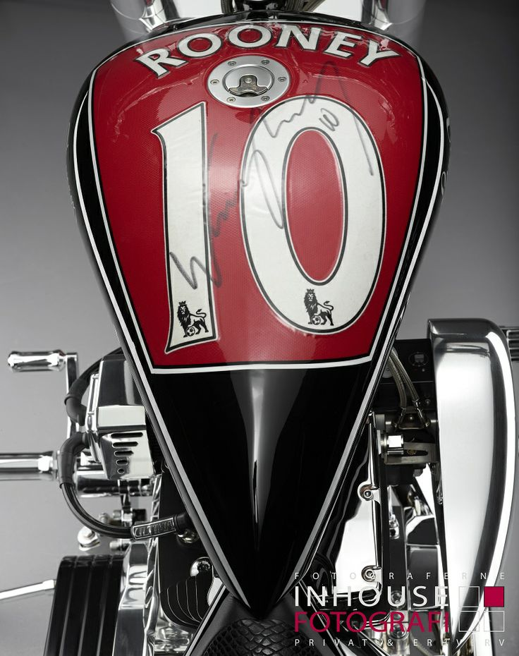 The Wayne Rooney motorcycle build by Lauge Jensen