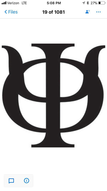 Best 25 greek symbol ideas on pinterest ancient greek symbols phi psi fraternity greek symbol phi kappa psi tattoo idea biocorpaavc