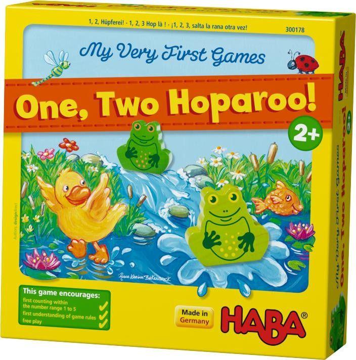 Haba 1, 2 hoparoo! Игра для самых маленьких своими руками - Babyblog.ru