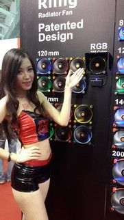 New Thermaltake Riing RGB High Static Pressure Radiator Fan With Patented LED Ring At COMPUTEX 2015