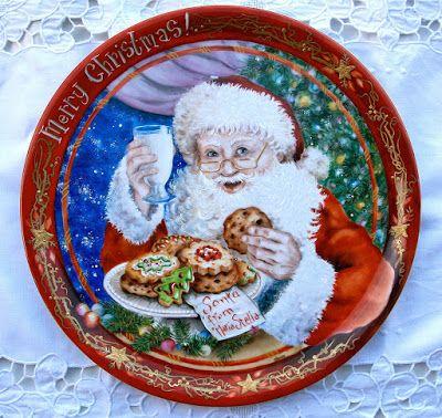 Natale e Porcellane: Biscotti per Babbo Natale