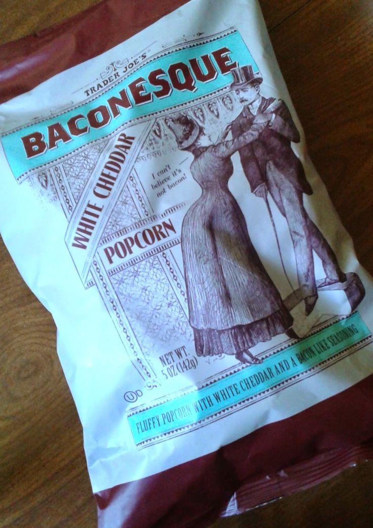 What's Good at Trader Joe's?: Trader Joe's Baconesque White Cheddar Popcorn