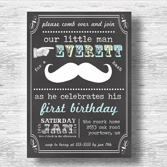 17 best images about grey yellow mustache party on pinterest, Baby shower invitations