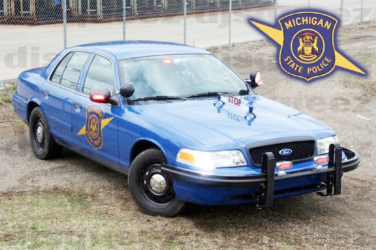 Ford Crown Victoria Police Interceptor (CVPI) - Michigan State Police