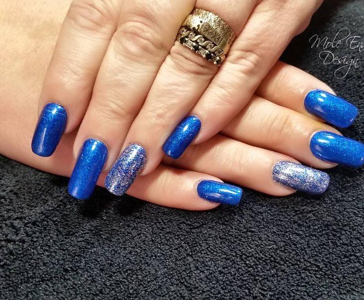 Acrylic overlay on natural nails with glitter @chintys_glitzyglitters #longnails #bling #blingnails #instanails #nailpro #showscratch #scratchnails #nailsmagazine #naildesigns #shaftesburynails #dorsetnails #gillinghamnails #moleenddesign