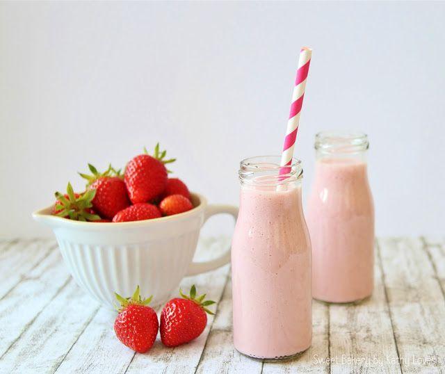 Kathy Loves...: Erdbeer Milchshake