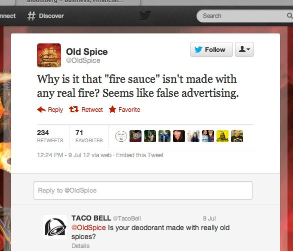 Taco Bell's response to 'false advertising' =] Taco Bell has awesome interactions on Twitter