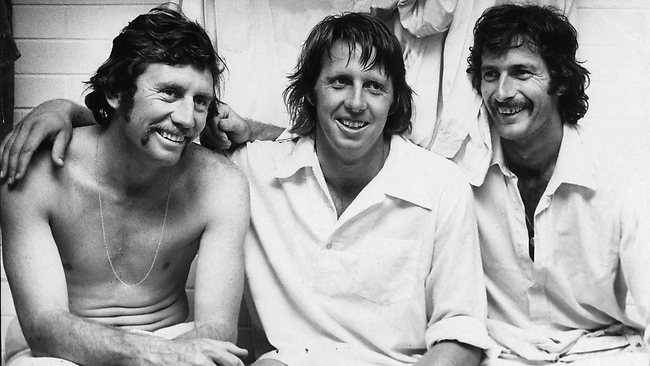 Ian Chappell, Jeff Thompson,  Dennis Lillee...........................Ashes to ashes, Dust to dust. If Lillee don't get you, Thomo must