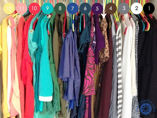 Organizing Your Closet by Color | Live Colorful