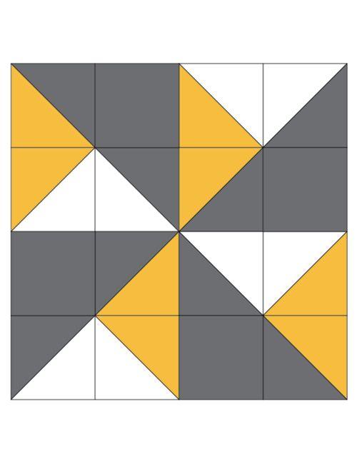 Double Pinwheel Quilt Block | Such a gorgeous block!