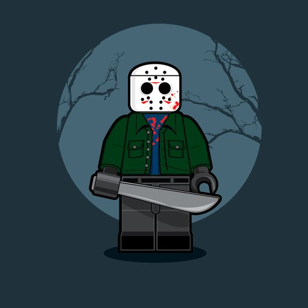 Lego Jason Voorhees - Friday the 13th - Dan Shearn