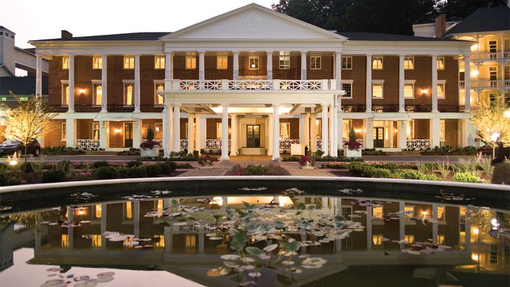Have you seen this place - so gorgeous! Bedford Springs Resort front exterior during the day