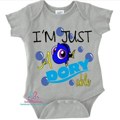 I'm Just A Doryable Onesie - AmaysingGifts.Com
