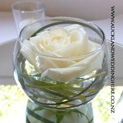 Fishbowl Glass Vases Fish Bowl Centerpiece Wedding