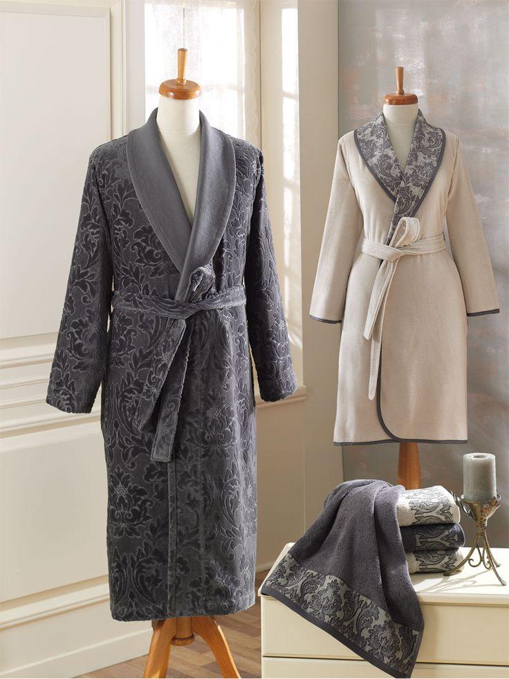 'SERASER' #Ecocotton %100 #Organic / #Jacquard Men's Bathrobe / #Ladie's Bathrobe / #Embroidered Towel / #Towel / #Bathrobe  http://www.ecocotton.com.tr/UrunDetay.aspx?urun=281lang=2