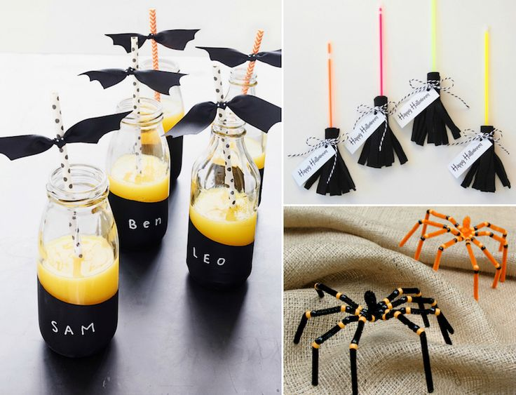 les 25 meilleures id es de la cat gorie activit manuelle halloween sur pinterest bricolage. Black Bedroom Furniture Sets. Home Design Ideas