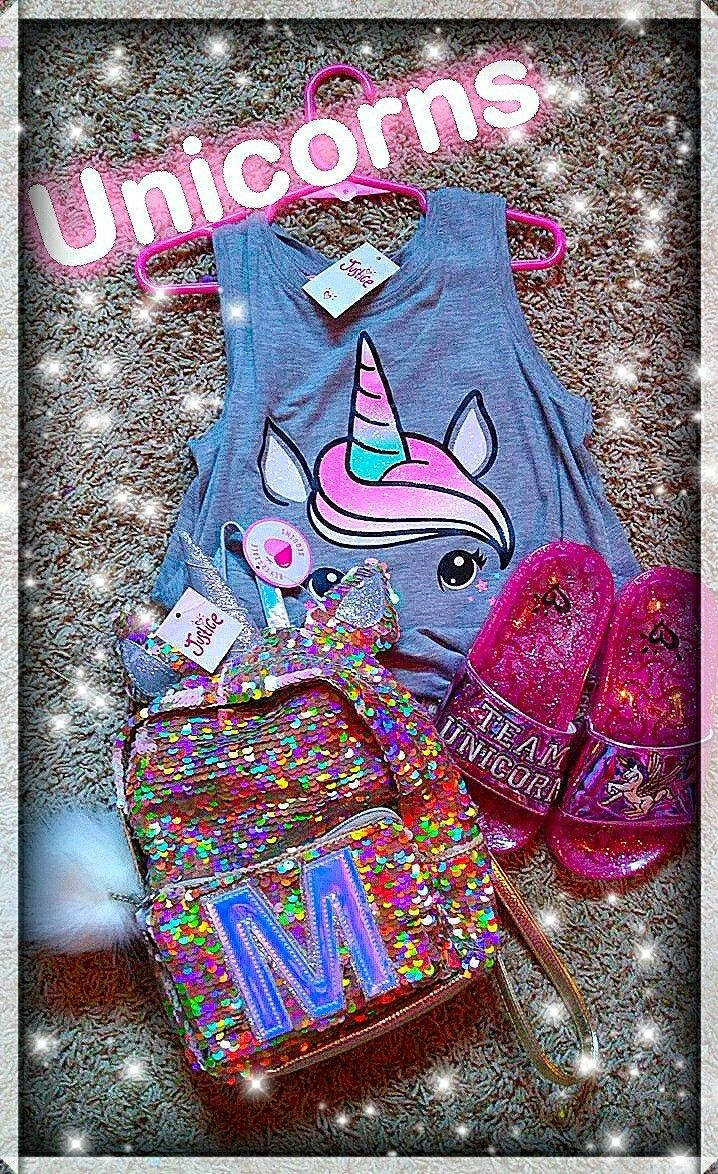 My Daughter S Unicorn Style From Justice Team Unicorn At My Daughter S Favorite Store Just Cute Outfits For Kids Justice Backpacks Justice Clothing Outfits