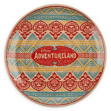 Adventureland Bamboo Plate