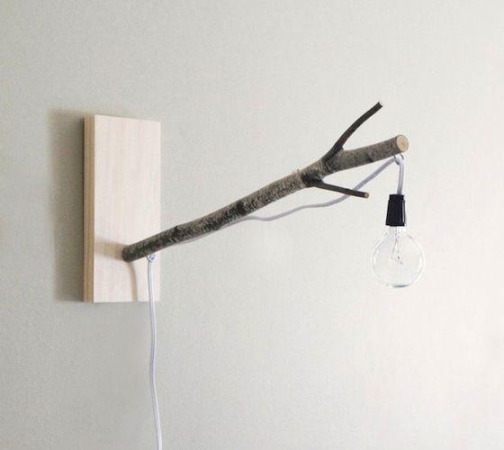 White Birch Branch #Lamp