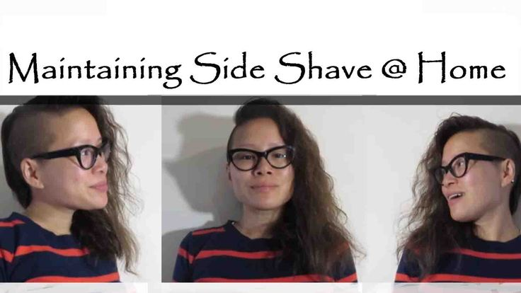 A tutorial on how to keep your side shave fresh.
