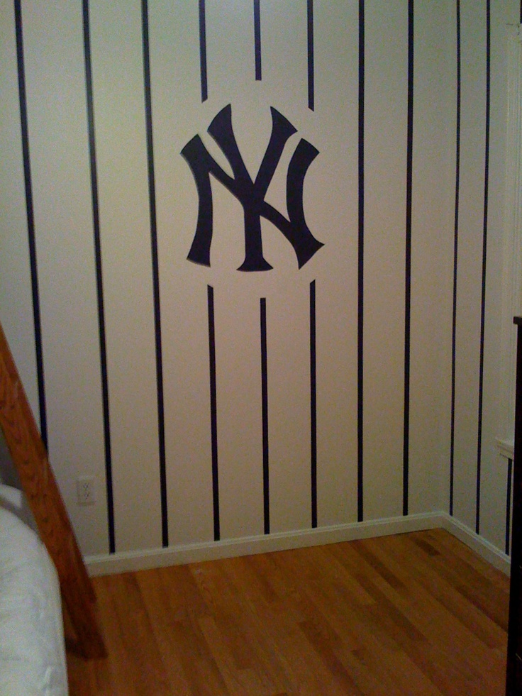 little boys bedroom for all the new york yankees fans out there created by weston design south burlington vt bedrooms pinterest new york - New York Yankees Bedroom Decor