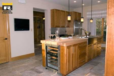 Lakeview model kitchen