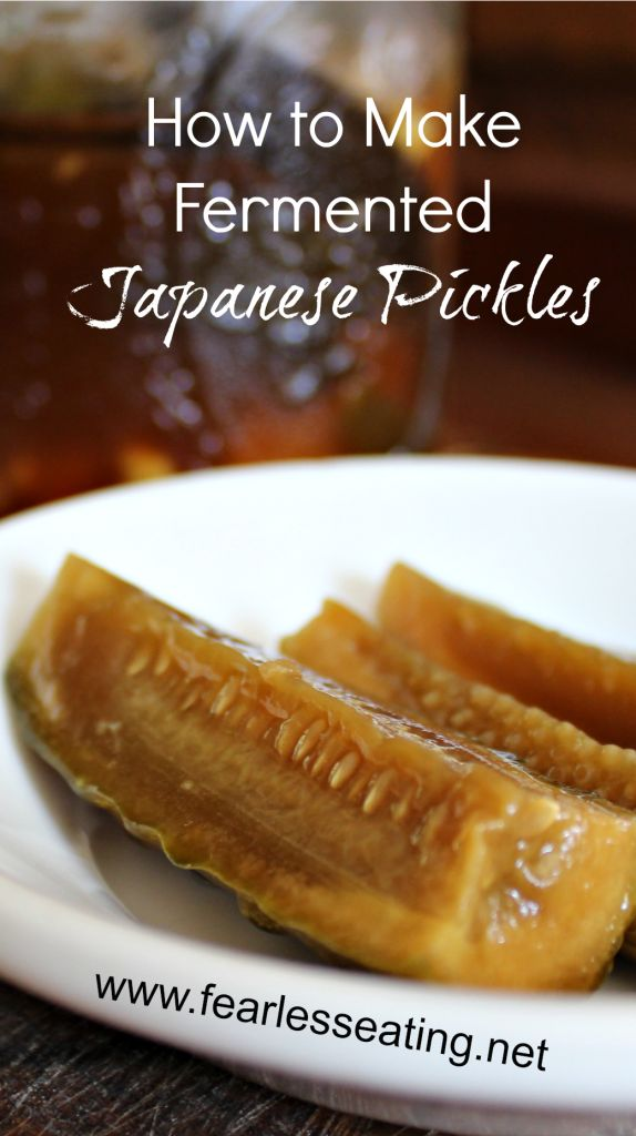 How to Make Fermented Japanese Pickles | www.fearlesseating.net