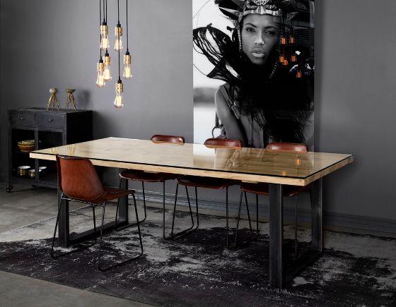 Raw spisebord | DIS Inredning + Kristensen&Kristensen