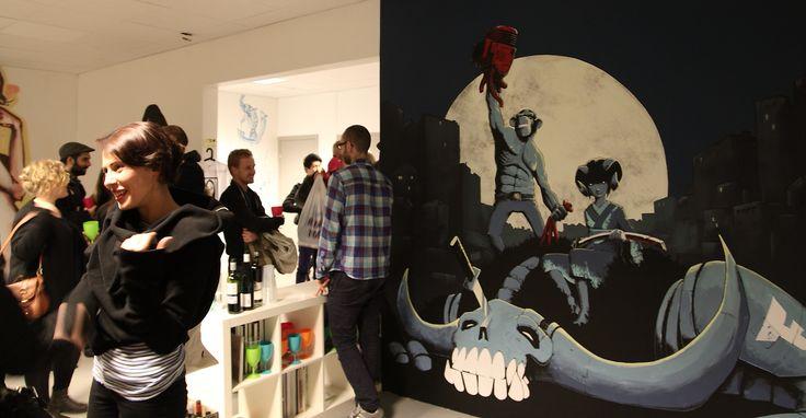 'The Dirty Art' featuring artist Arnt Ove Foss.