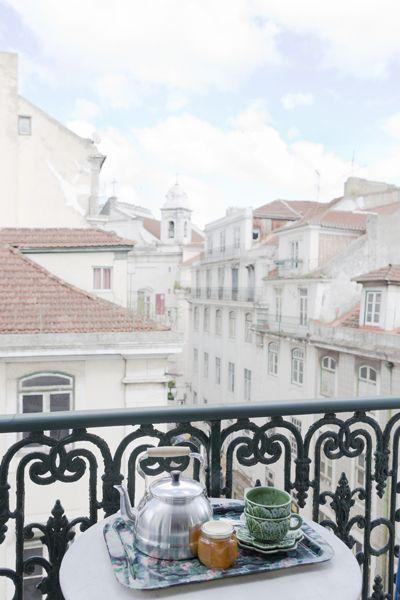 Delicious breakfast in the 4th floor, Campo Grande apartment, Baixa House, Lisbon www.baixahouse.com