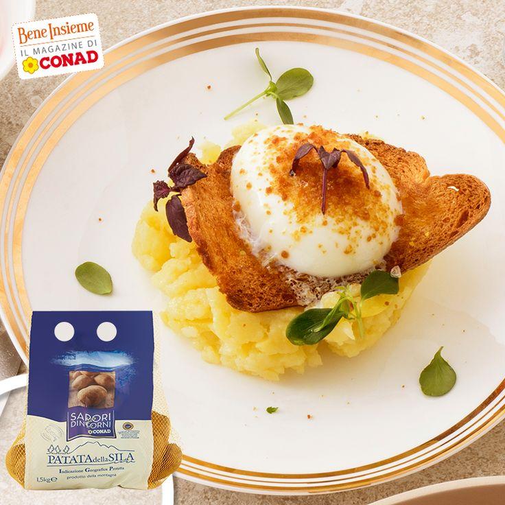 La Patata della Sila oggi è vestita per le feste, in una raffinata ricetta dello chef Stefano De Gregorio: clicca sulla foto per la preparazione e... buon appetito!