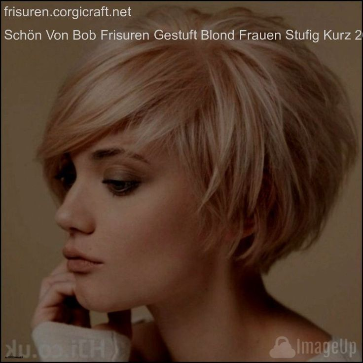 Damen frisuren stufiger bob