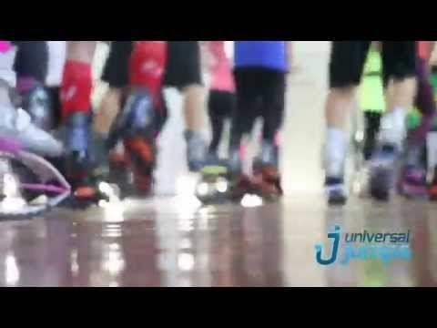 Kangoo Jumps | Expo Levin 2014 | Universal Jumps - YouTube