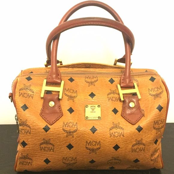 Flash Sale!! Vintage Authentic 80's MCM Purse Estate found authentic mcm. This was from when they were still made in Germany. Lining has vintage wear but still in great shape. Hardware shows some change in color due to its age. Smells good and looks good. Measures 11W x 7H. No pay pal and no trade. Reasonable offers will be accepted. MCM Bags Totes