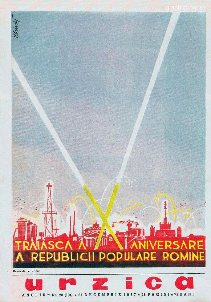 Graphic front - tiparituri - COPERTE REVISTE - Revista Urzica - 1949