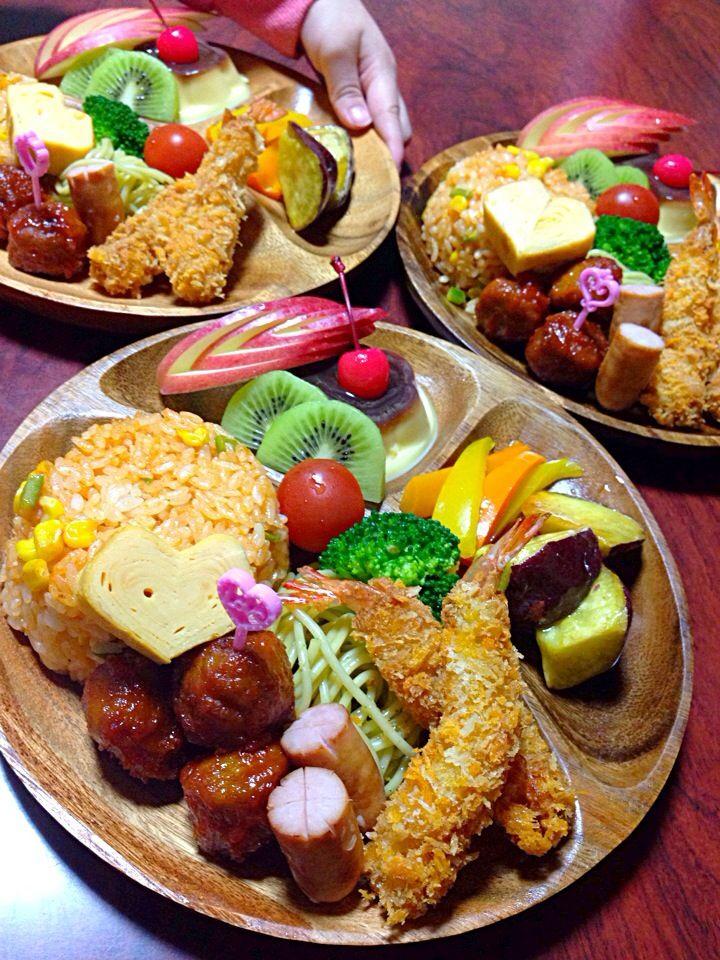 みお's dish photo お子様ランチ | http://snapdish.co #SnapDish