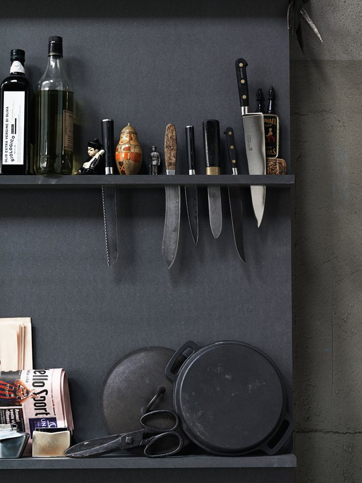 Kitchen Organization - Storage Ideas - Modern Industrial - Loft Design - Home Decor