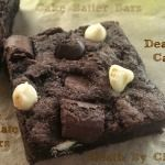 'Death By Chocolate' Cake Batter Bars via @https://www.pinterest.com/BaknChocolaTess/
