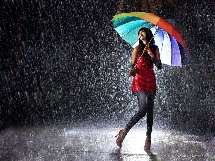 Girl with umbrella <3