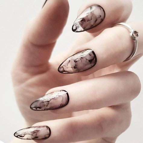 Most Popular and Trendy Nails Shapes for Glamorous Look ❤️ Stylish Almond Nail Shapes picture 1 ❤️ The importance of nails shapes is great since a wrongly picked one can ruin the whole manicure. But that does not mean that you cannot experiment!https://naildesignsjournal.com/popular-nails-shapes/ #nails #nailart #naildesign #nailshapes