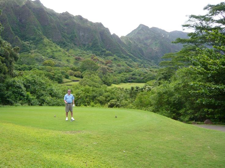 Ko 'Olau CC in the Ko 'Olau mountains, Oahu, Hawaii. PGA #1 rated most difficult course in the United States.