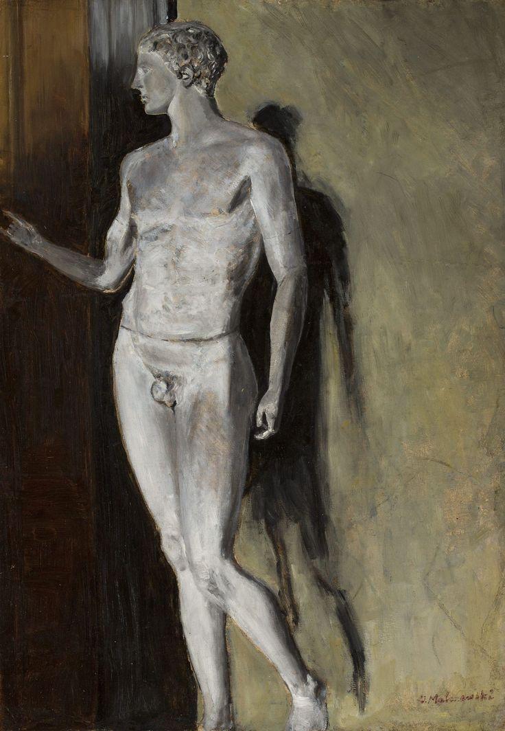Jacek Malczewski -Studium rzeźby klasycznej