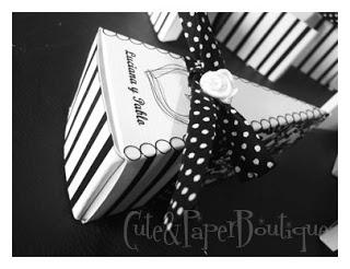 Cute and Paper Boutique Diseños personalizados en papeleria para tu fiesta o evento. Baby Shower: favor box cake
